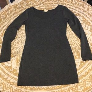 SILENCE + NOISE ANTHROPOLOGIE long slv dress/top